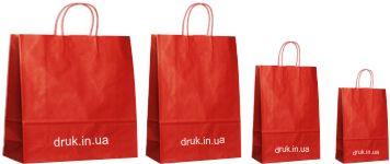 замовити пакети з крафта з печаткою логотипу